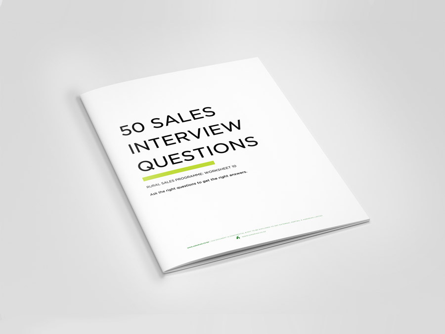 agrarian-50-sales-interview-book